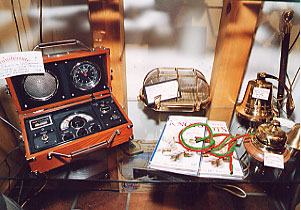 Radio pilot wireless, knot handbooks, ships bells