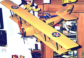 Model plane `Jenny´, collectors´ items